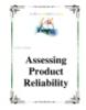 Giáo trình: Assessing Product Reliability
