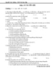 Tuyển tập câu hỏi trắc nghiệm sinh học 12