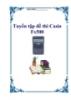 Tuyển tập đề thi Casio Fx500