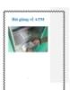 Bài giảng về ATM
