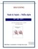 Bài giảng sinh lý bệnh_Miễn dịch