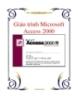 Giáo trình Microsoft Access 2000