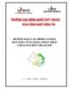 HƯỚNG DẪN CẤU HÌNH CƠ BẢN ROUTER CỨNG BẰNG PHẤN MỀM CISCO PACKET TRANCER
