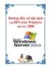 Hướng dẫn cài đặt dịch vụ DFS trên Windows server 2008