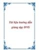 Tài liệu hướng dẫn giảng dạy DNS