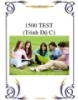 1500 TEST (Trình Độ C)