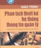 Giáo trình phân tích thiết kế hệ thống thông tin quản lý - Phạm Minh Tuấn