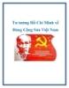 Tư tưởng Hồ Chí Minh về Đảng Cộng Sản Việt Nam