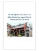 Đề tài nghiên cứu: Khảo sát điền dã văn học người Hoa ở Thành phố Hồ Chí Minh