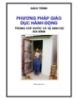Giáo trình phương pháp giáo dục hành động trong cấp nước và vệ sinh hộ gia đình