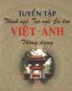 Ebook Tuyển tập Thành ngữ Tục ngữ Ca dao Việt - Anh thông dụng - Nguyễn Đình Hùng