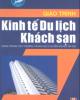 Giáo trình Kinh tế du lịch khách sạn - Đinh Thị Thư (chủ biên)