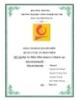 Báo cáo bài tập lớn: Dự án phần mềm quản lý khách sạn