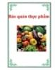 Báo cáo: Bảo quản thực phẩm