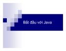 Bắt đầu với Java