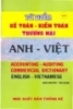 Từ điển kế toán kiểm toán thương mại Anh - Việt