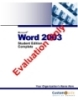 Microsoft Word 2003 Student Edition Complete
