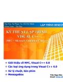 Lập trình Windows: Kỹ thuật lập trình Visual C++