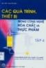 Các quá trình thiết bị trong công nghệ hóa chất thực phẩm - tập 4_p1