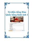 Từ điển tiếng Hàn Quốc bằng hình ảnh 1