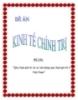 Quy luật giá trị và vận dụng quy luật giá trị ở Việt Nam