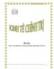 Đề án: Vai trò của nhà nước trong nền kinh tế thị trường ở nước ta