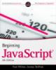 Ebook Beginning JavaScript - Paul Wiltion, Jeremy McPeak