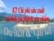 KT chi phí và tính giá thành dịch vụ du lịch và vận tài