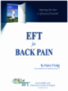 EFT for Back Pain: A Specialized Use of Emotional Freedom Techniques