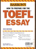 Barron: How to prepare for the Toefl Essay