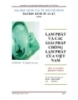 Tiểu luận:Lạm phát và các giải pháp chống lạm phát của Việt Nam