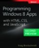 Programming Windows 8 Apps with HTML, CSS, and JavaScript second preview