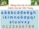 Bảng chữ cái và số cho bé