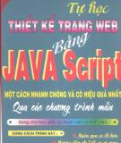 Ebook Tự học thiết kế trang web bằng Java Script một cách nhanh chóng và hiệu quả nhất qua các chương trình mẫu