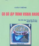 Giáo trình Lập trình cơ sở dữ liệu với Visual Basic