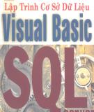 Ebook Lập trình cơ sở dữ liệu Visual Basic SQL Server
