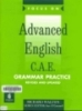 Advanced English C.A.E _ Grammar Practice