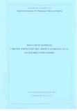 Báo cáo tự đánh giá chương trình giáo dục SPKTCN TĐ ĐH ( GV TCCN ) ngành điện công nghiệp