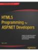 HTML Programming for ASP.NET Developers