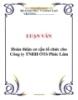 LUẬN VĂN: Hoàn thiện cơ cấu tổ chức cho Công ty TNHH ÔTô Phúc Lâm