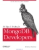 50 Tip & Tricks for MongoDB Developers