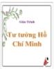 Giáo trình: Tư tưởng Hồ Chí Minh