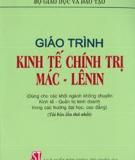 Giáo Trình Kinh tế chính trị Mác-Lênin