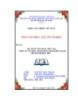 Luận văn: Kế toán vốn bằng tiền tại công ty CP thực phẩm đóng hộp Kiên Giang chi nhánh Bến Tre