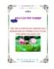 Luận văn: Tiêu thụ sản xuất & xác định kết quả kinh doanh tại CTTNHH sản xuất nước uống đóng chai Quốc Bảo