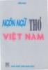 Ngôn ngữ thơ Việt Nam