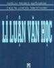 Ebook Lý luận văn học - Phương Lựu