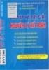 Bài tập và bài giải nguyên lý kế toán