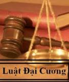Pháp luật đại cương