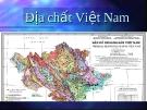 Giáo trình địa chất Việt Nam